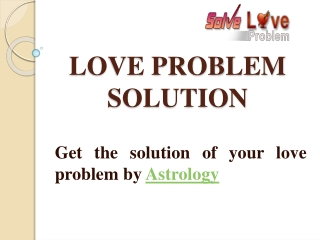 Solve Love Problem