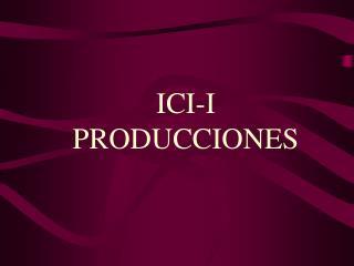 ICI-I PRODUCCIONES