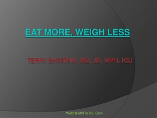 Eat More, Weigh Less 28