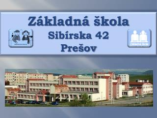 Z kladn   kola  Sib rska 42 Pre ov