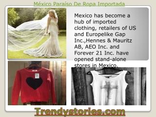 México Paraíso De Ropa Importada