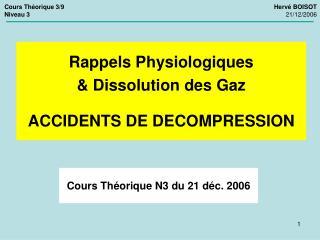 Cours Th orique N3 du 21 d c. 2006