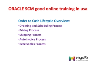ORACLE CRM good online training in usa
