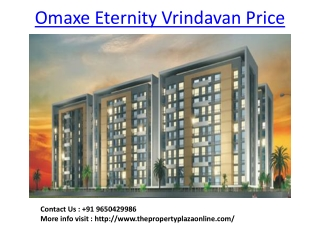 Omaxe Apartments Vrindavan