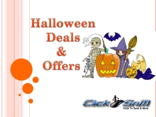 Find Huge Discounts on Halloween Costumes