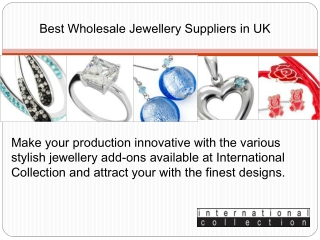 Best Wholesale Jewellery Suppliers in UK