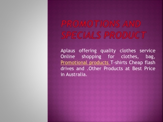 Special Product Supplier in Australia
