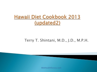Hawaii Diet Cookbook 2013 (updated2)29