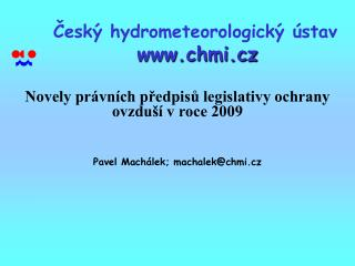 Cesk  hydrometeorologick   stav  chmi.cz