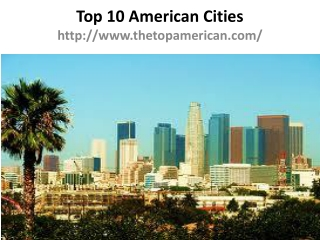Top American Cities