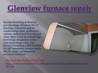 Glenview furnace repair