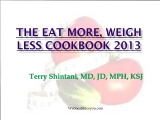 Eat More, Weigh Less 30