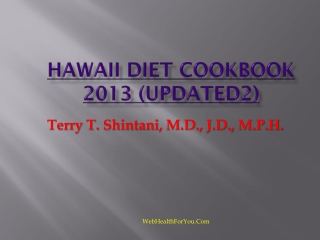 Hawaii Diet Cookbook 2013 (updated2)30