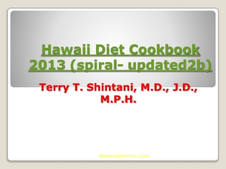 Hawaii Diet Cookbook 2013 (spiral- updated2b)30