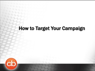 How to Category Target