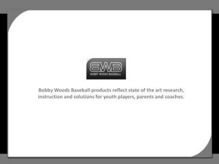 Youth Baseball & Softball Hitting Instruction
