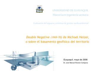UNIVERSIDAD DE GUAYAQUIL Maestr a en ingenier a sanitaria  Evaluaci n del impacto y sistemas de gesti n medioambiental