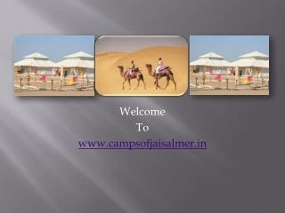 Desert Camp Jaisalmer?