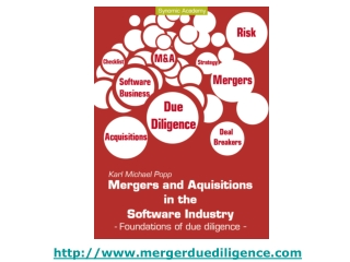 Foundations of due diligence for successful mergers