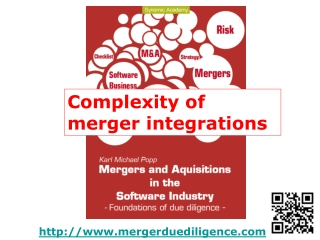 Complexity of post merger integration