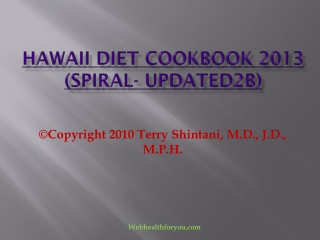 Hawaii Diet Cookbook 2013 (spiral- updated2b)31