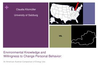Environmental Knowledge and Willingness to Change Personal Behavior: