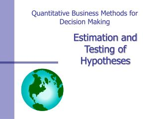 Quantitative Business Methods for Decision Making