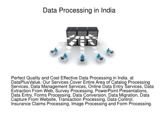 Data Processing in India