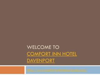 Hotel near davenport