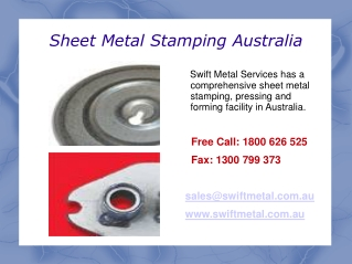 Sheet Metal Fabrication Australia