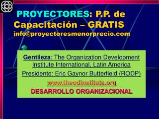 PROYECTORES: P.P. de Capacitaci n   GRATIS infoproyectoresmenorprecio