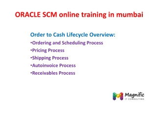 oracle scm online training in mumbai