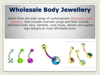 Wholesale Body Jewellery