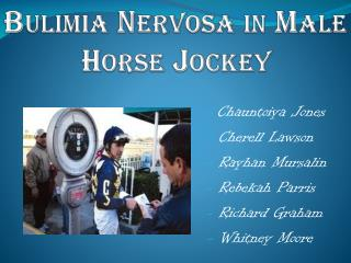 bulimia nervosa in male horse jockey