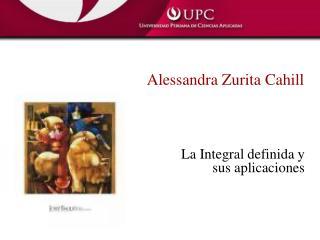 Alessandra Zurita Cahill