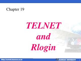 TELNET and Rlogin