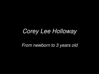 Coreysbirthday