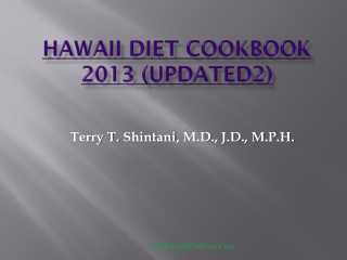 Hawaii Diet Cookbook 2013 (updated2)32