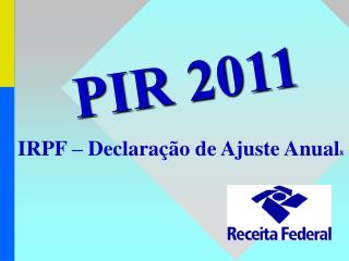 IRPF   Declara  o de Ajuste Anual8