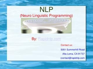 Learn NLP Techniques