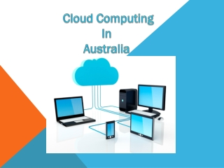 Cloud Computing in Australia