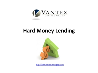 Hard Money Lending California