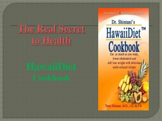 Hawaii Diet Cookbook 2013 (updated2) 33