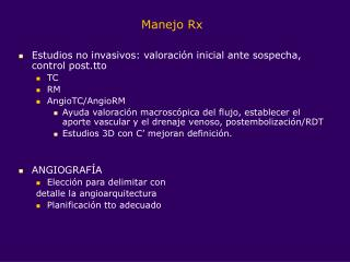 Manejo Rx