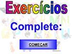 Exerc cios