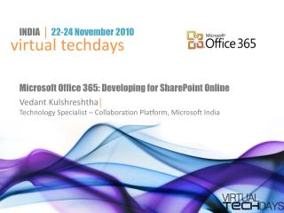 Microsoft Office 365: Developing for SharePoint Online