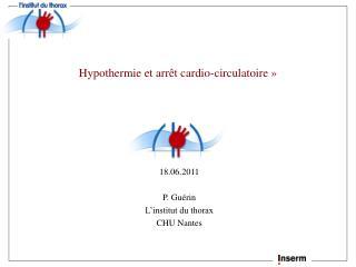 Hypothermie et arr t cardio-circulatoire