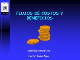 FLUJOS DE COSTOS Y BENEFICIOS