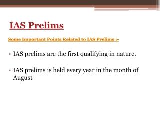 Disscussion about IAS Prelims