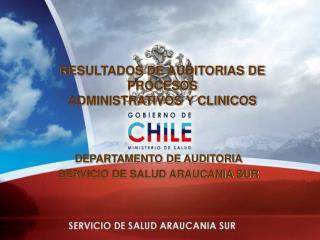 RESULTADOS DE AUDITORIAS DE PROCESOS ADMINISTRATIVOS Y CLINICOS